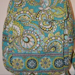 VERA BRADLEY Cloth Backpack Peacock